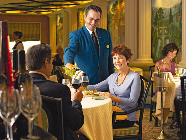 Princess Cruises - restaurants